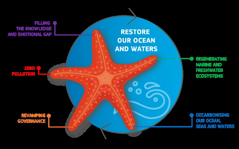 The EU Missions with emphasis on MISSION Starfish 'Restore our ocean and waters by 2030'