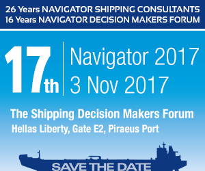 17th NAVIGATOR 2017 – 'The Shipping Decision Makers Forum'