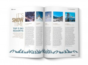 IT'S SNOW TIME |  TOP 5 SKI RESORTS
