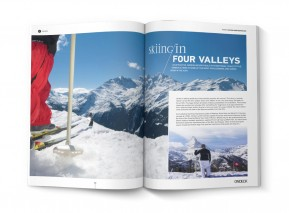 SKIING IN FOUR VALLEYS