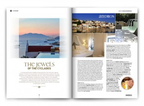 THE JEWELS OF THE CYCLADES