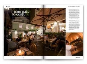 FROM ITALY TO CORFU | Nolita Corfu