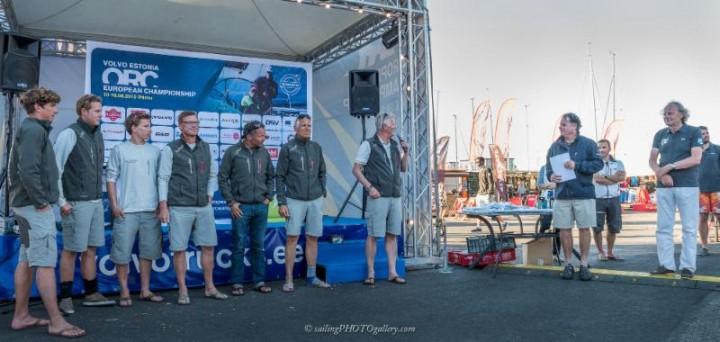 EL POCKO awarded for winning Garmin Offshore Race - photo Pavel Nesvadaba
