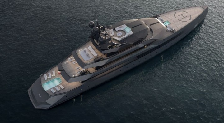 CRN Begallta 75m top view