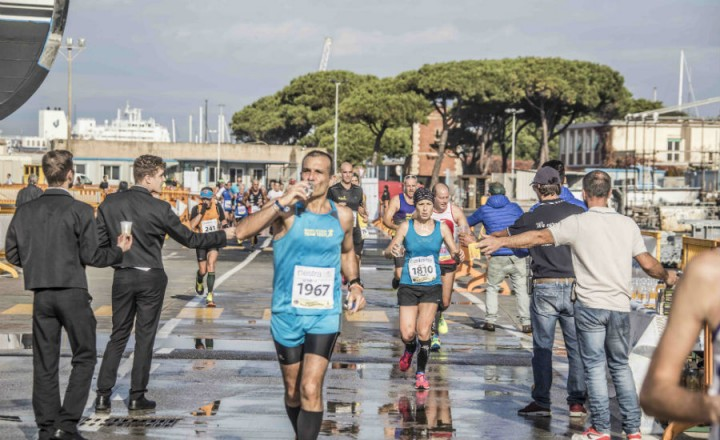 Livorno Half Marathon inside Benetti 2