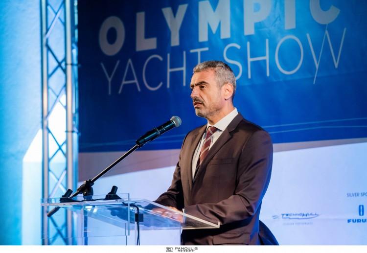 Ο Σταύρος Κατσικάδης, πρόεδρος της Ελληνικής Ένωσης Μαρινών