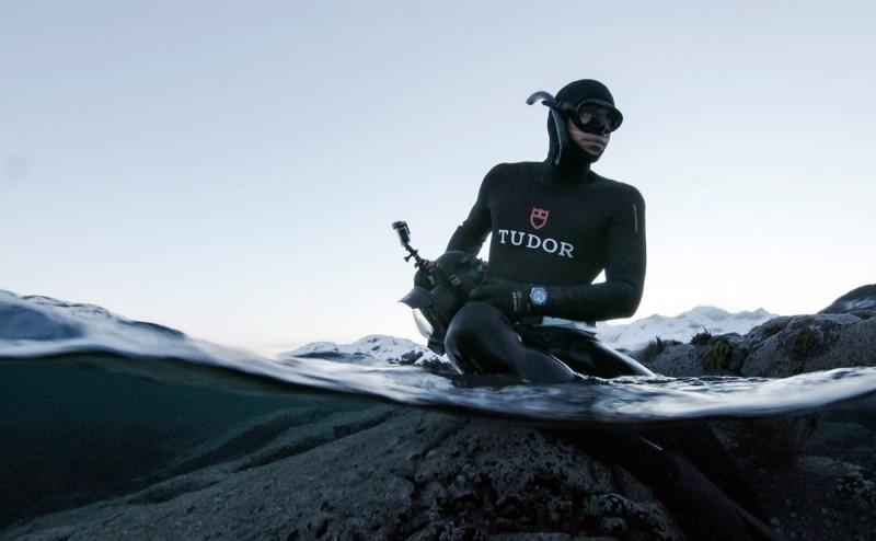 The Quest for Nature   TUDOR joins Morgan Bourc'his