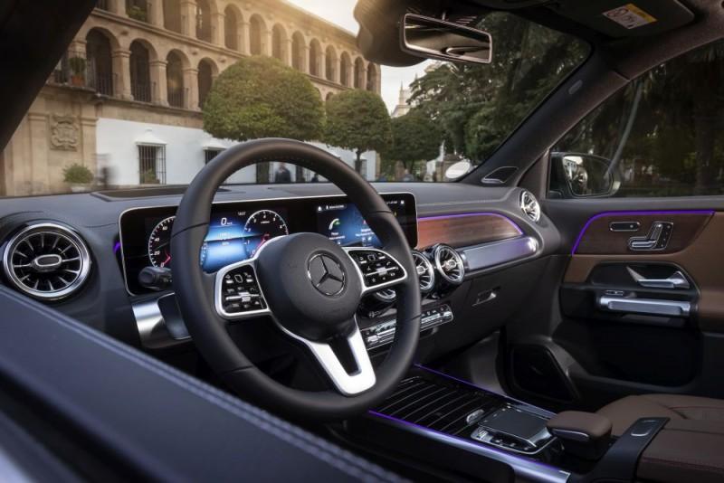 Mercedes Benz GLB 2020 interior a1000x667