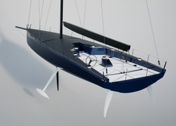 A New Concept For The Maxi Yacht World