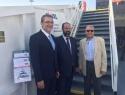 Από αριστερά: Δημήτρης Μαθιός, Πρόεδρος Σ.Β.Α.Π, Ιωάννης Θεοδωρόπουλος,Διευθύνων Σύμβουλος THEODOROPOULOS-GROUP, Ευάγγελος Βαλλιανάτος, Γενικός Διευθυντής EVAL