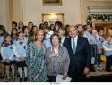 Από αριστερά: Χριστίνα Παπαθανασίου-υπεύθυνη δημοσίων σχέσεων Grande Bretagne, Δάφνη Οικονόμου- Πρόεδρος συλλόγου