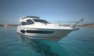 Sunseeker 95 Yacht at this year's Cannes Yachting Festival | Skipper ONDECK - NewLaunches.anewmanhot1nsp-887