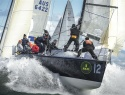 VIRAGO (USA) IN ACTION DURING THE 2012 ROLEX FARR 40 WORLDS