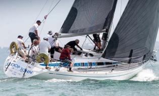 Overall winner - Class 1 Swan 40 Sloop John T
