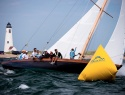 Kestrel sailing in the Opera House Cup regatta